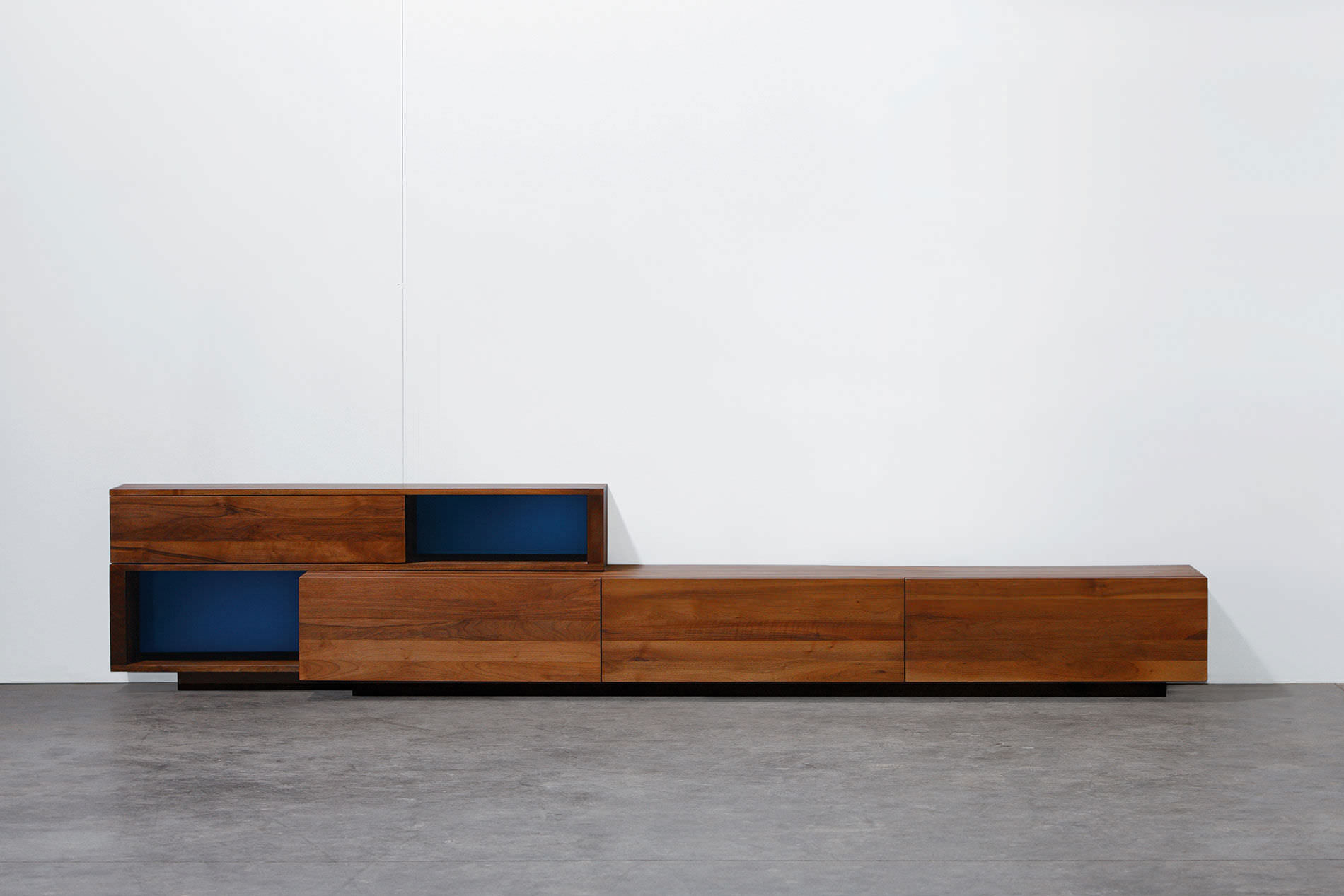 Contemporary sideboard   oak   walnut   solid wood LOG by Michael  Schneider Artisan Solid Wood. Contemporary sideboard   oak   walnut   solid wood   LOG by