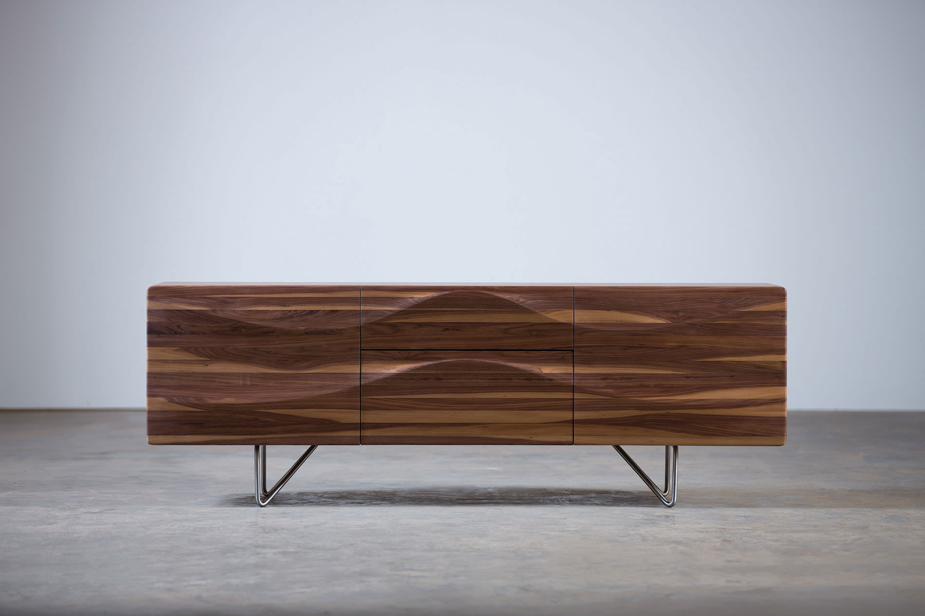 Contemporary sideboard   oak   walnut   cherrywood LASTA by Ado Avdagi  Artisan  Solid Wood Furniture. Contemporary sideboard   oak   walnut   cherrywood   LASTA by Ado