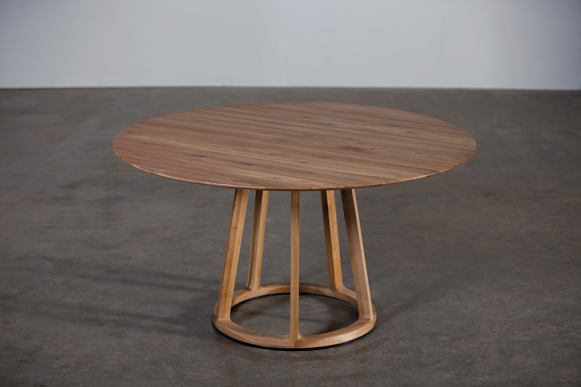 Contemporary table   oak   walnut   cherrywood PIVOT by Michael Schneider Artisan  Solid Wood Furniture. Contemporary table   oak   walnut   cherrywood   PIVOT by Michael