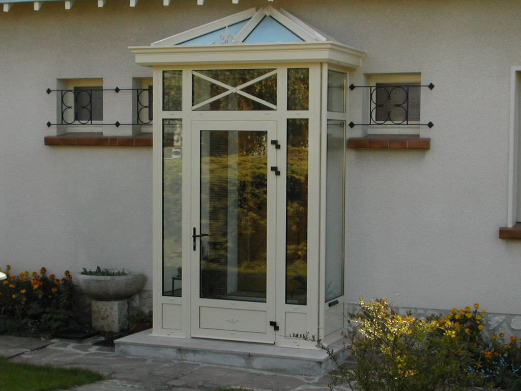Aluminum conservatory all glass