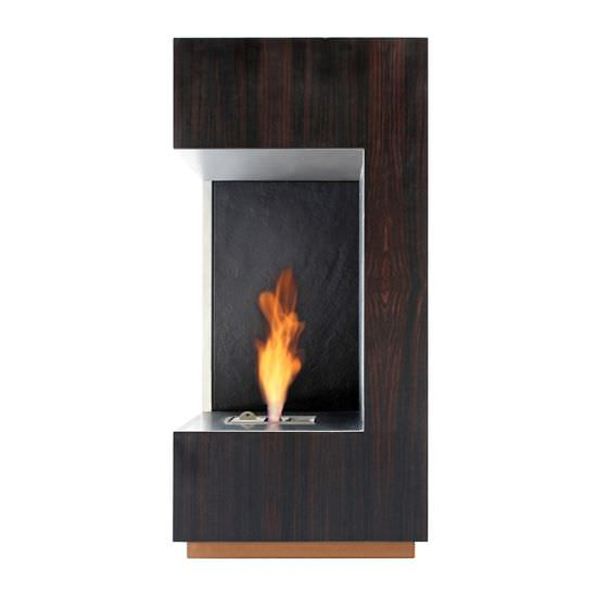 Bioethanol fireplace contemporary open hearth corner LOFT