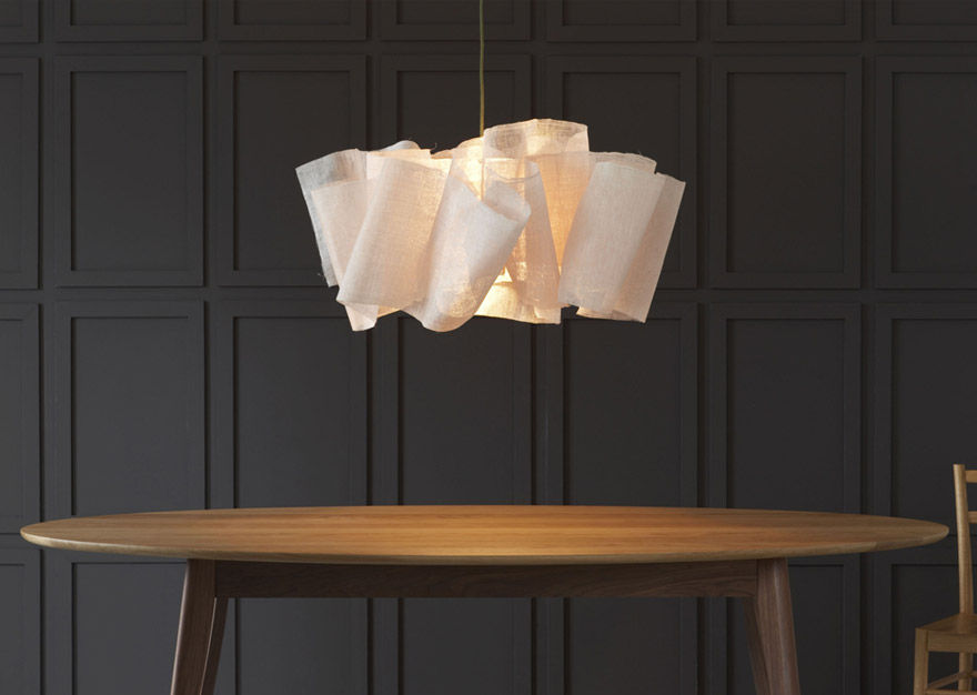 pendant lighting design. Pendant Lamp / Original Design Fabric - ANDERS Lighting D