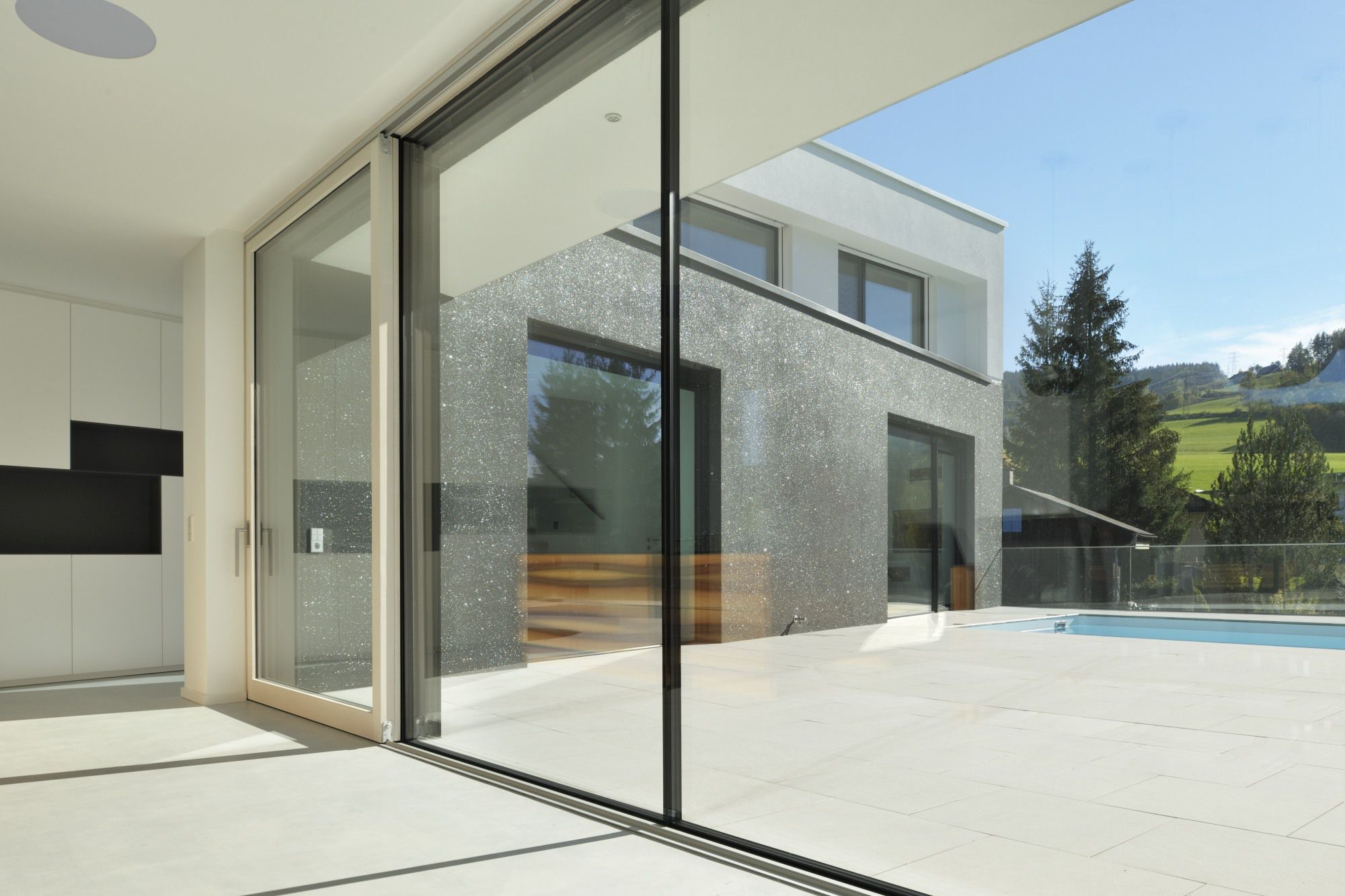 ... Sliding Patio Door / Wooden / Double Glazed PANORAMIC M SORA