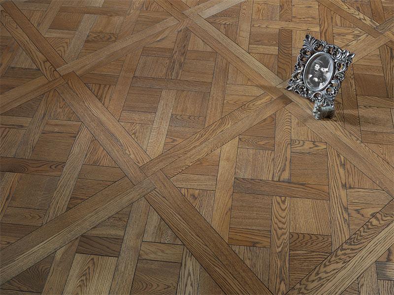 Engineered Parquet Floor Glued Oak Oiled
