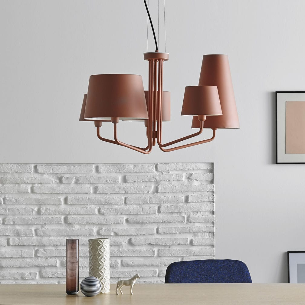 Contemporary chandelier metal incandescent commercial tria contemporary chandelier metal incandescent commercial tria by luis eslava arubaitofo Image collections