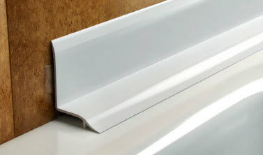 Tile Bathroom Trim pvc edge trim / for tiles / inside corner - bath seal - salag