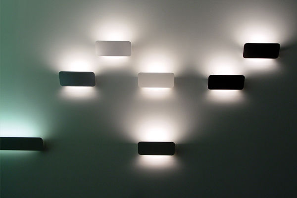 ... Contemporary Wall Light / Cast Aluminum / LED / Rectangular LANE  LUCEPLAN ... Nice Look