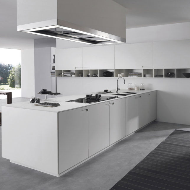 Contemporary Kitchen / Stone / Lacquered Aluminum / Acrylic   ASSIM