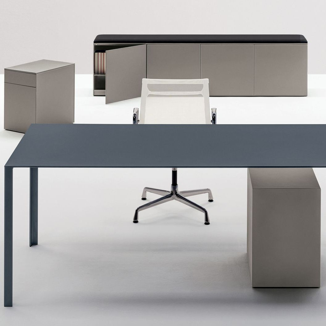 Aluminum Office Unit 2 Drawer 3 Modular Lessless Color By Jean Nouvel