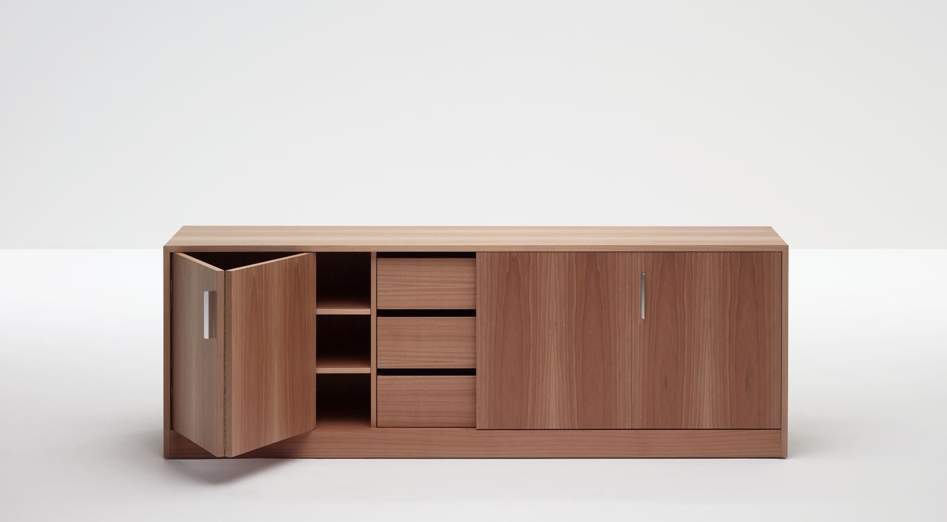 ... Low Filing Cabinet / Wooden / With Drawers / Modular MOODWAY By  Fernando Urquijo UNIFOR ...