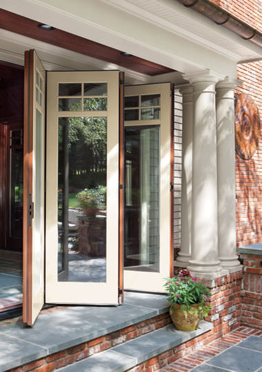 Captivating ... Sliding And Stacking Patio Door / Wooden / Double Glazed MARVIN MARVIN  ...