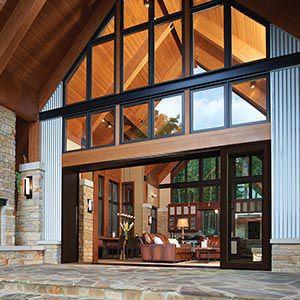 Sliding Patio Door / Wooden / Aluminum / Double Glazed MARVIN ULTIMATE  MARVIN ...