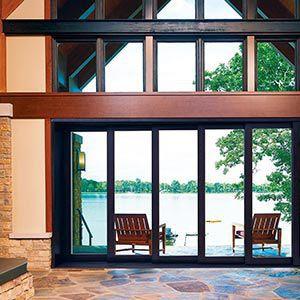 ... Sliding Patio Door / Wooden / Aluminum / Double Glazed MARVIN ULTIMATE  MARVIN ...
