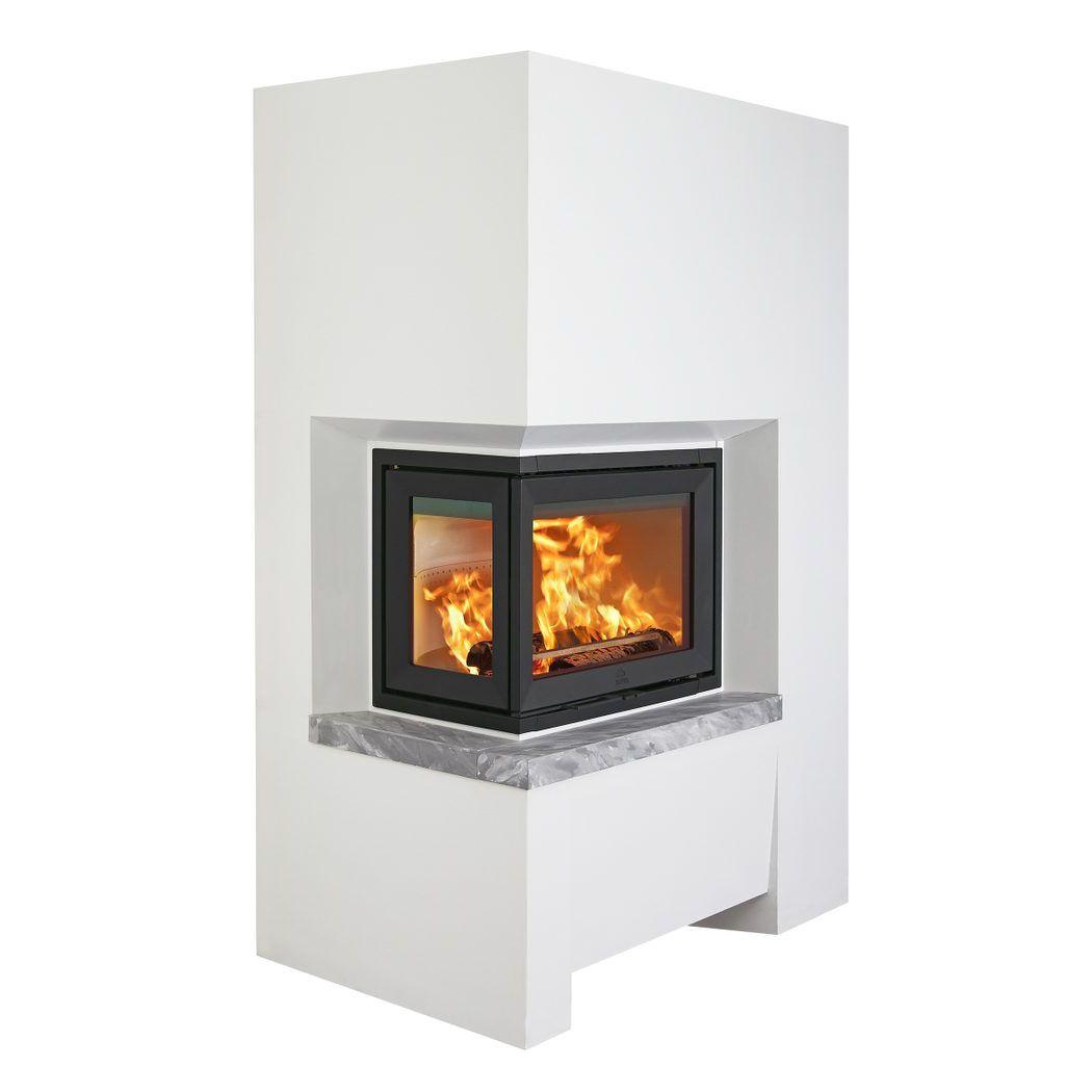 Wood Burning Fireplace Insert Corner S 72 Series Jotul