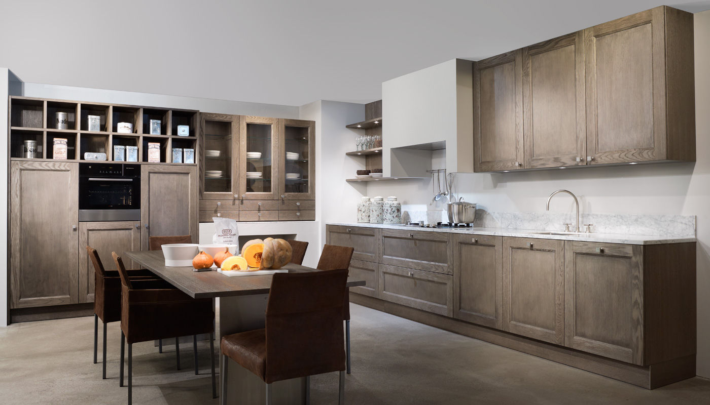 traditional kitchen / oak / solid wood / wood veneer - windsor ... - Eggersmann Küche