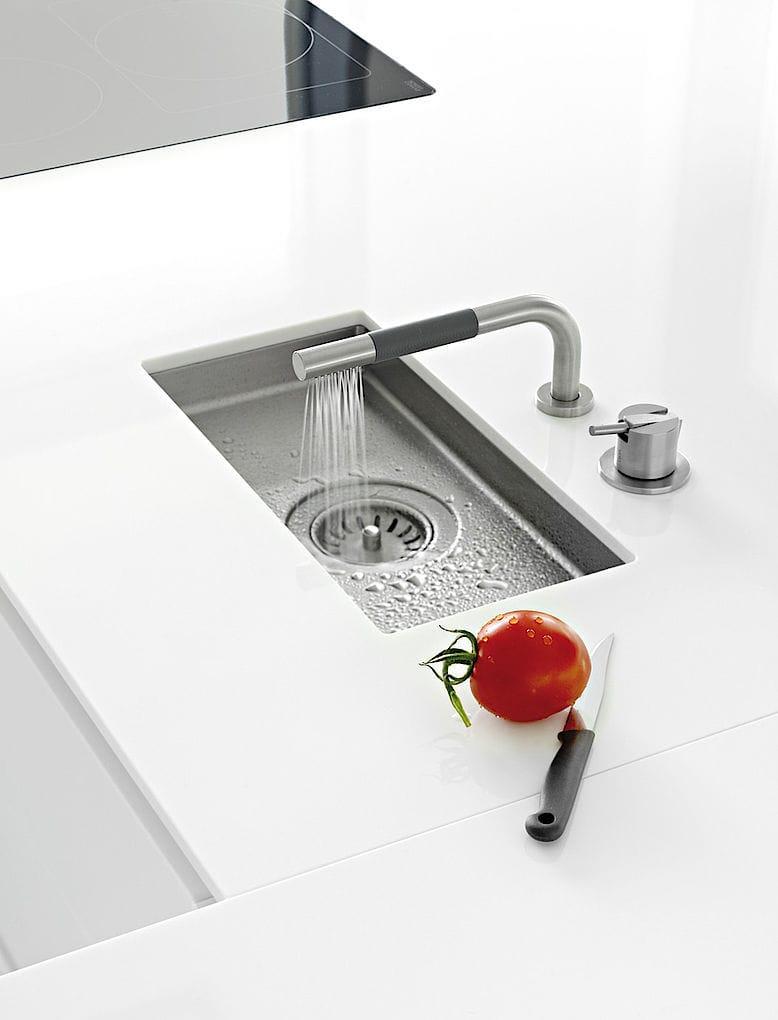 Contemporary kitchen / glass / laminate / island - HOUSE ... | {Küchen düsseldorf 19}