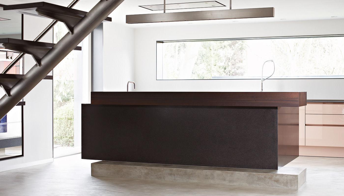 Eggersmann Küchen contemporary kitchen glass island villa regensburg