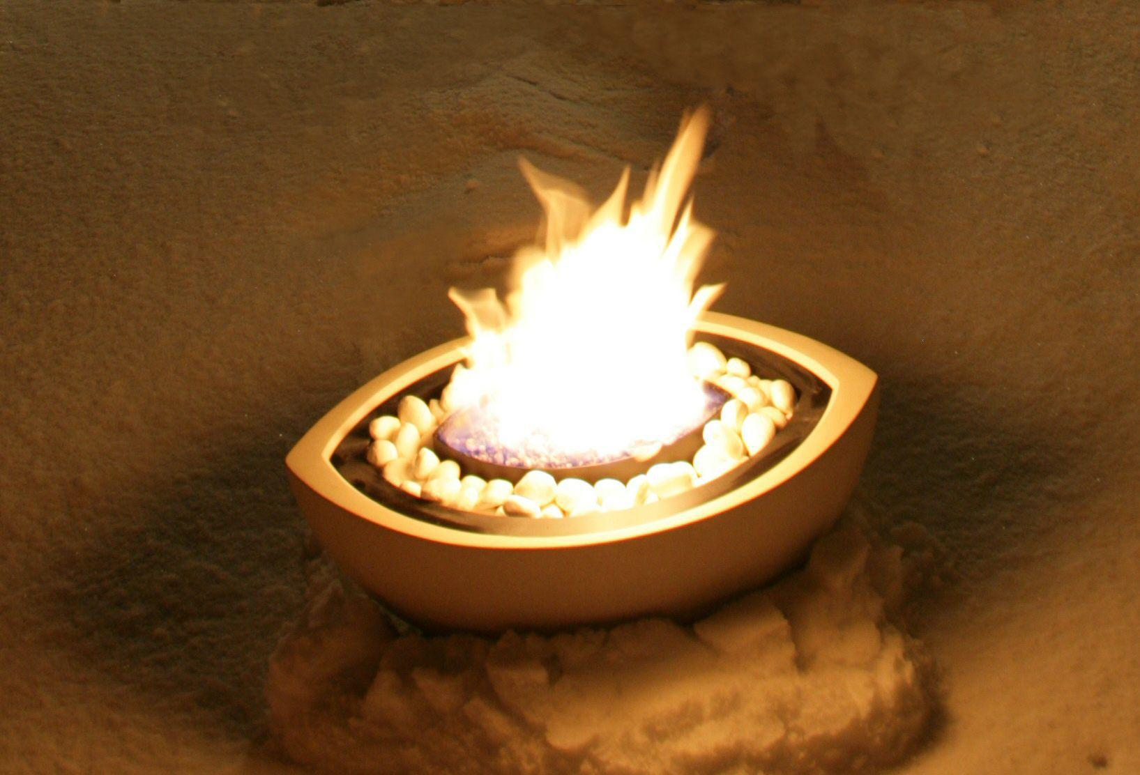 bioethanol fireplace contemporary original design
