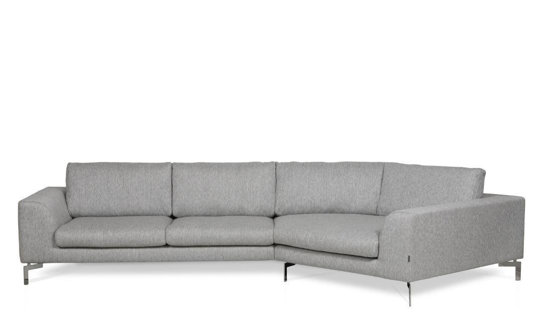 Beautiful ... Corner Sofa / Contemporary / Leather / Fabric