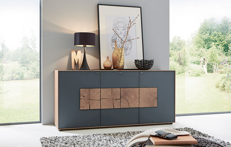 High sideboard / contemporary / oak - CAYA - Hartmann Möbelwerke ...