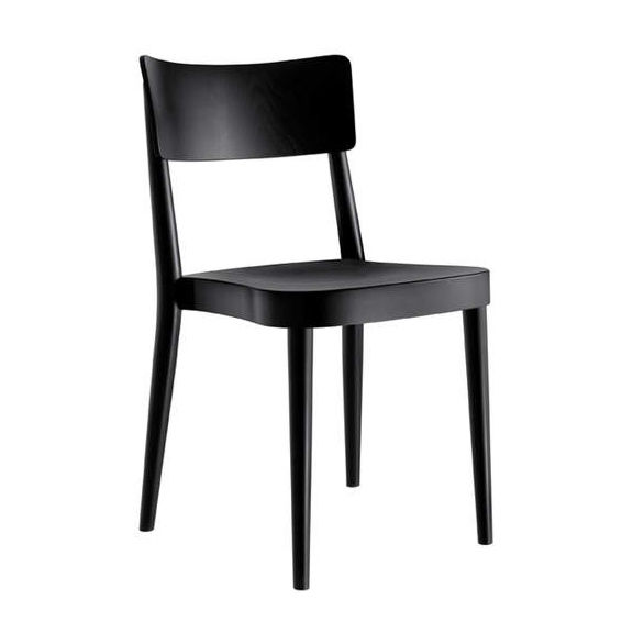 traditional chair design. Traditional Chair / Stackable Molded Plywood Solid Wood - STAPEL By Factory Design G