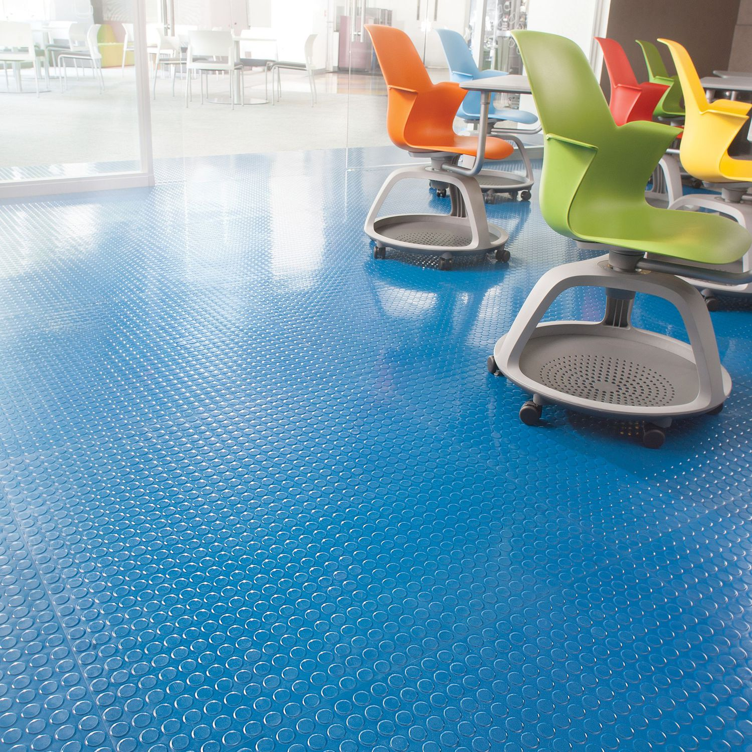 Tactile flooring rubber commercial tile true round lees tactile flooring rubber commercial tile true round dailygadgetfo Choice Image