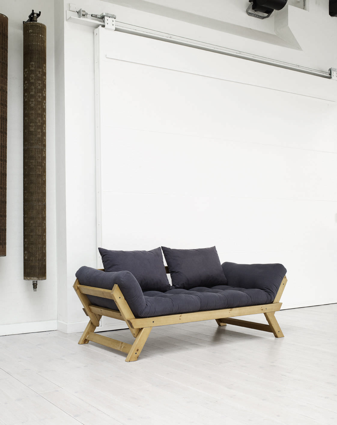 Sofa Bed / Contemporary / Wooden / 3 Seater   BEBOP