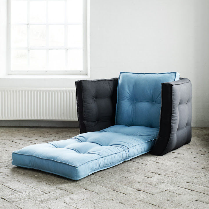 Contemporary Armchair / Fabric / Futon / Bed - Dice - Karup