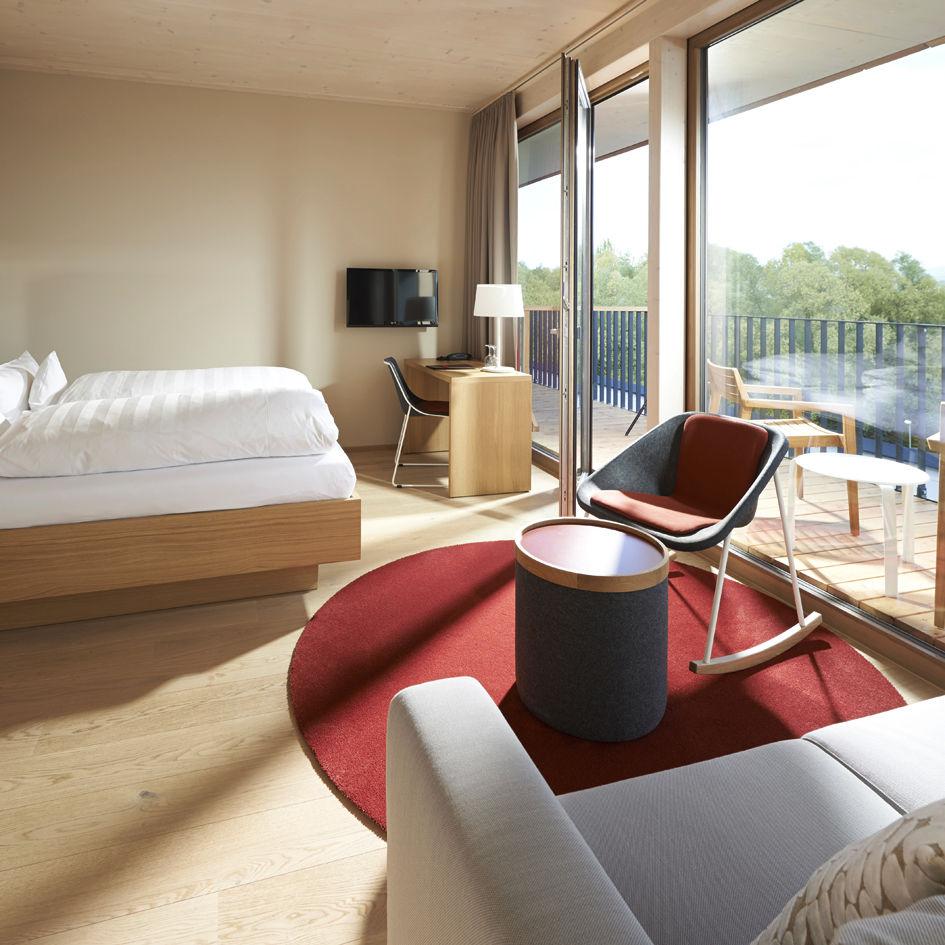 Rocking Bed Frame contemporary armchair / polyester / rocker - kola rocking chair