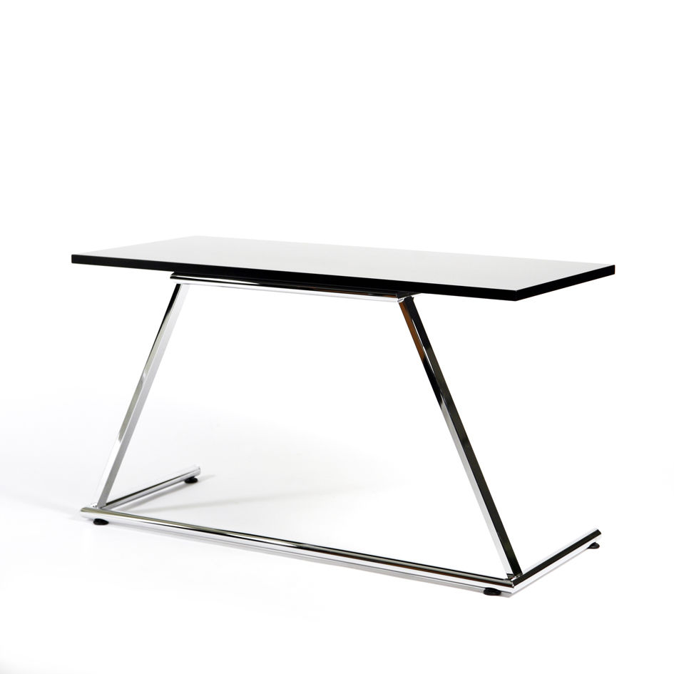 Contemporary boardroom table / metal / rectangular / folding