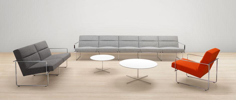 Contemporary Sofa Metal 5 Person Gray Frame By Antti Kotilainen