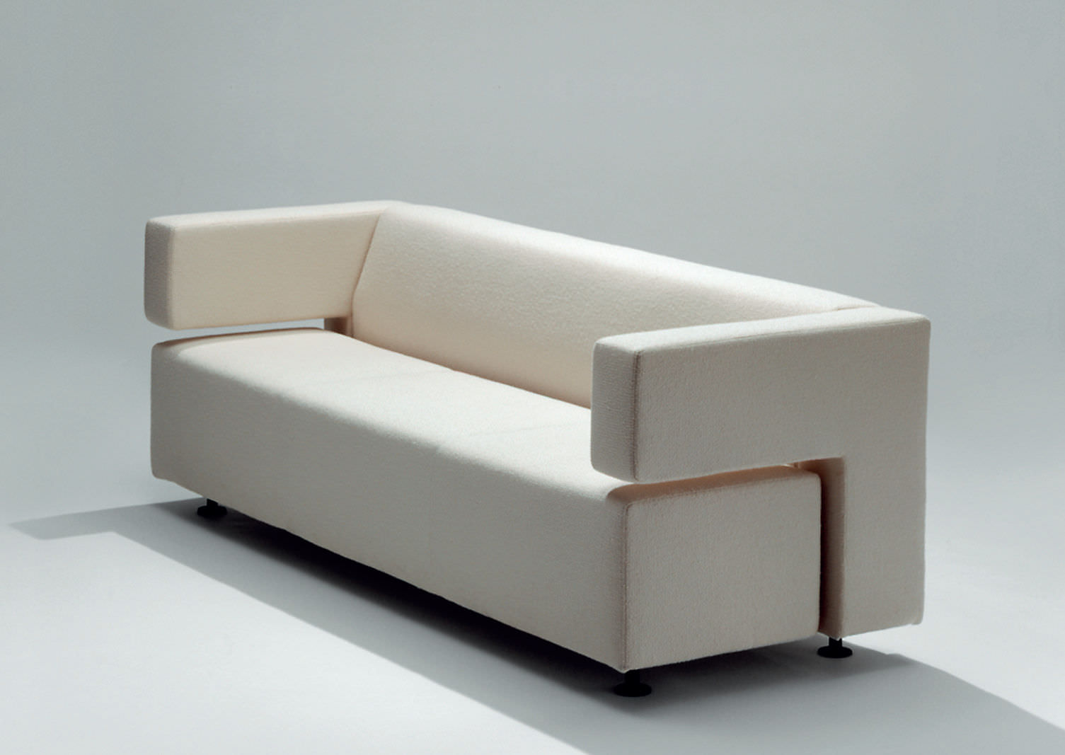 Contemporary Sofa / Leather / Fabric / 2 Seater   MILO By Jouko Järvisalo
