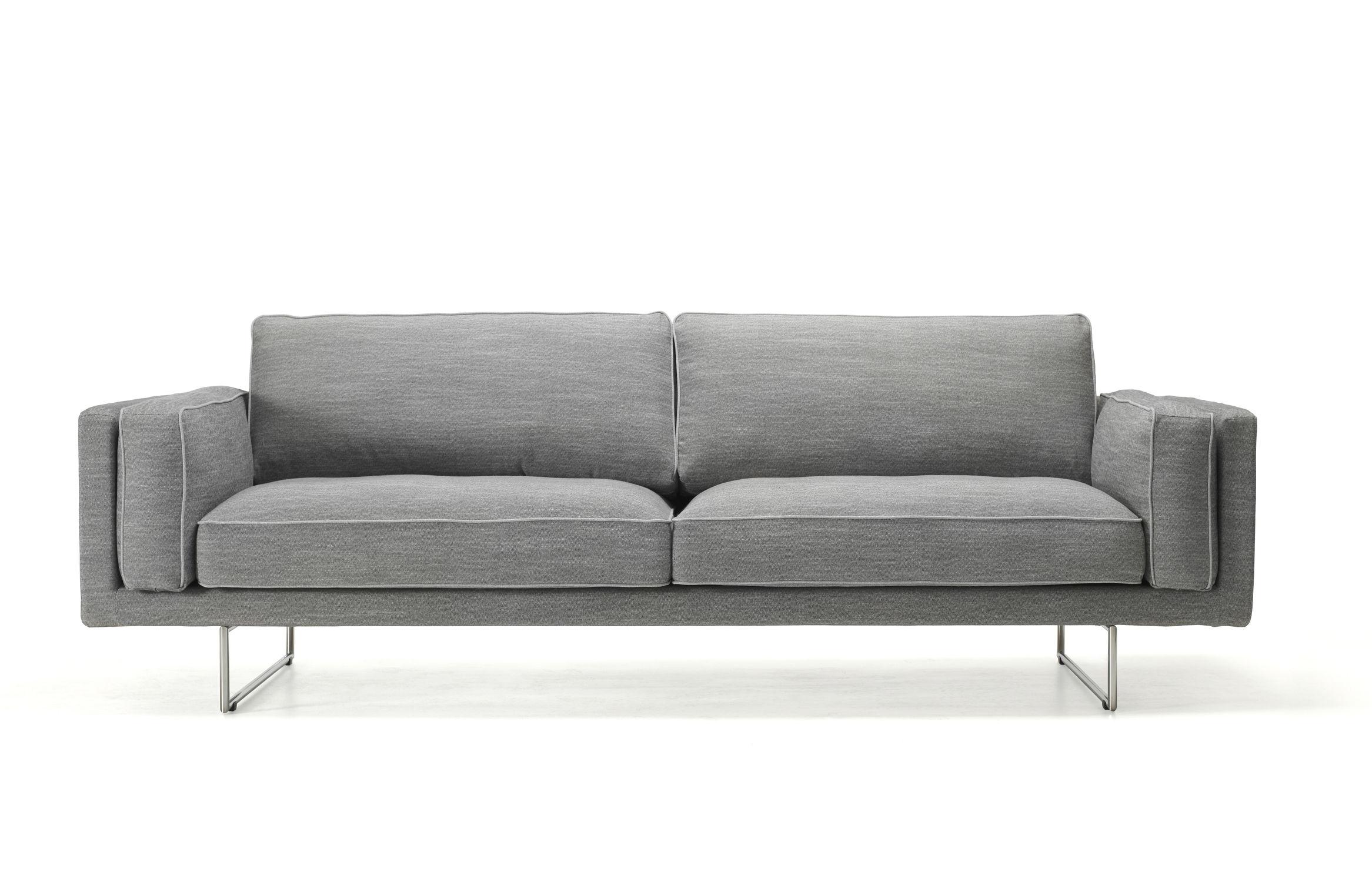 Elegant Sofa Möbel Beste Wahl Contemporary / Fabric / 3-seater / Anthracite