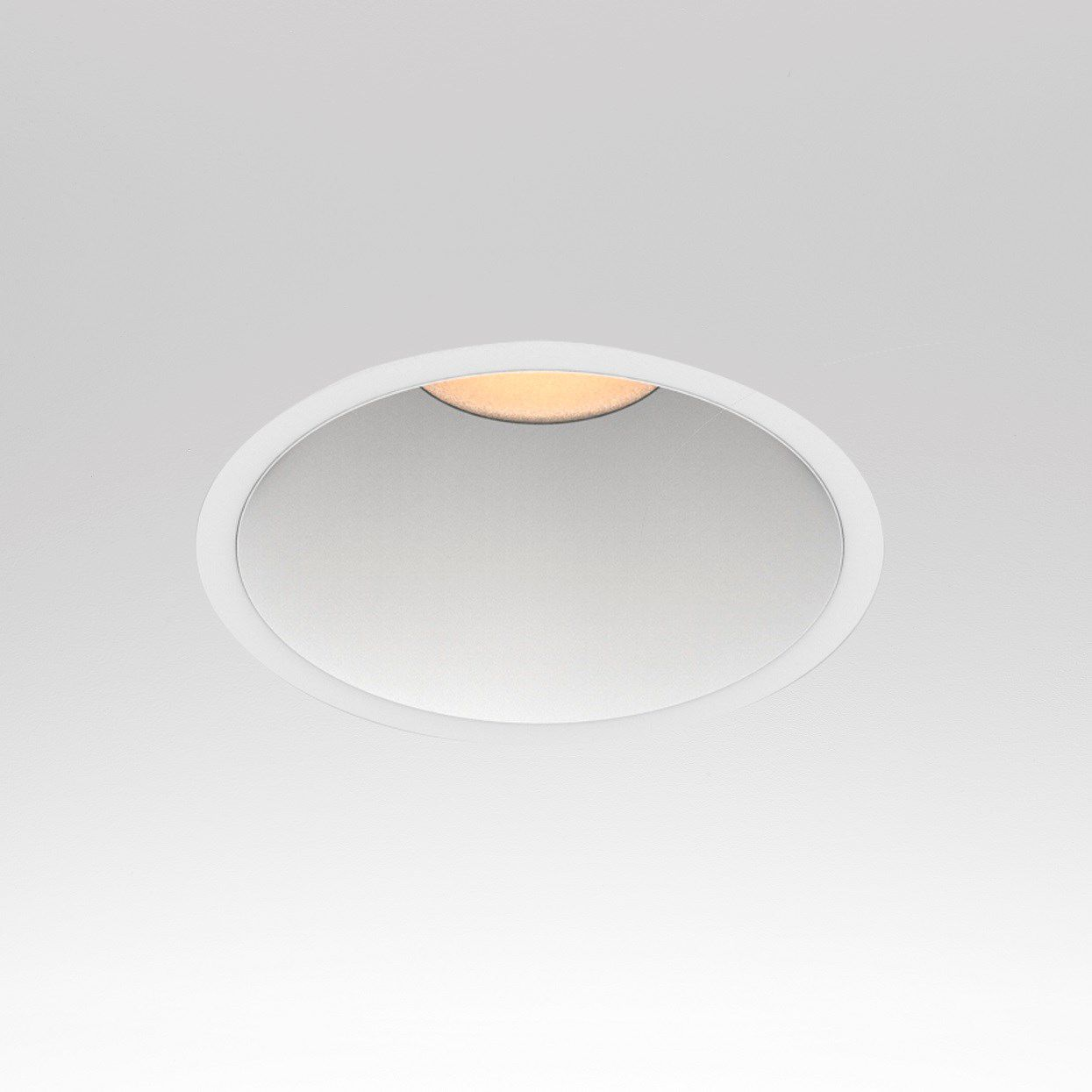 Recessed downlight led round square fraxion 4