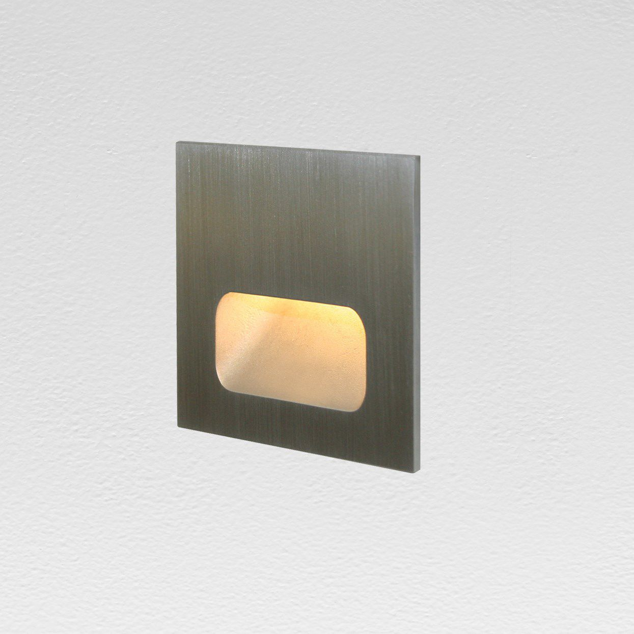 Recessed Wall Light Fixture / LED / Square / Outdoor   SSL1 LED