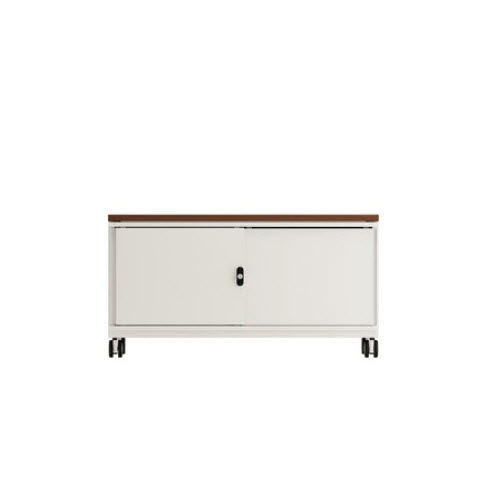 low filing cabinet / wooden / steel / with sliding door - CADDIES  sc 1 st  ArchiExpo & Low filing cabinet / wooden / steel / with sliding door - CADDIES ...