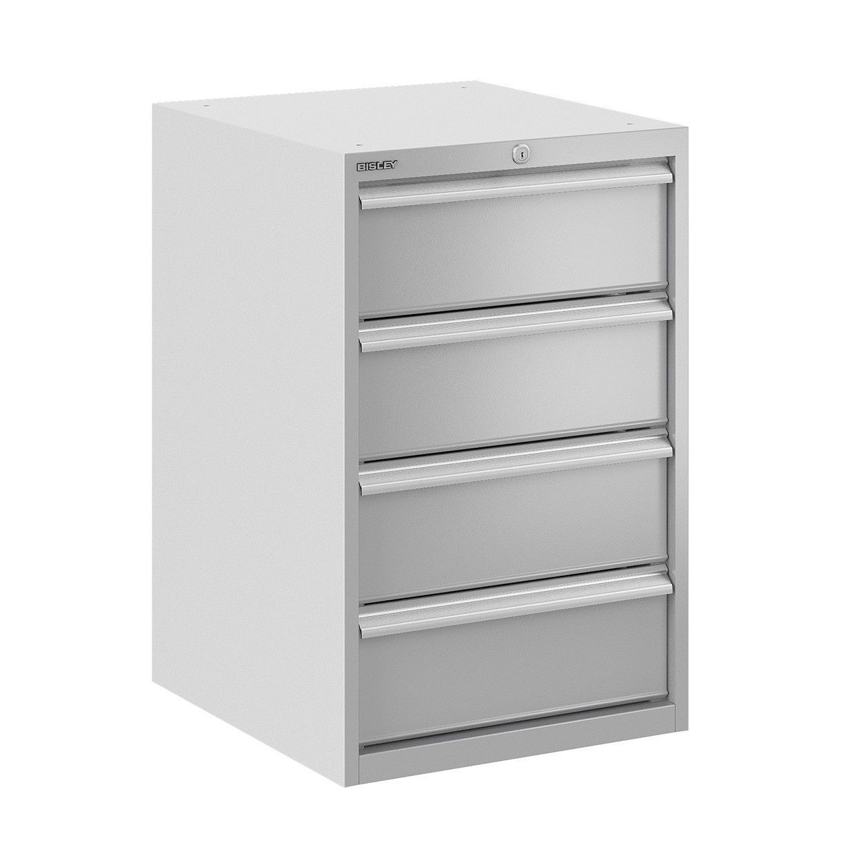 Low Filing Cabinet / Steel / With Drawers / Contemporary   BIS400227W