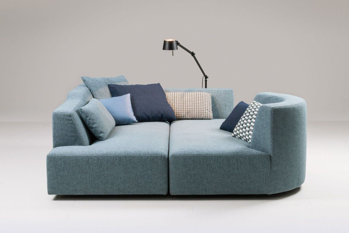 ... Modular Sofa / Contemporary / Fabric / With Removable Cover ...
