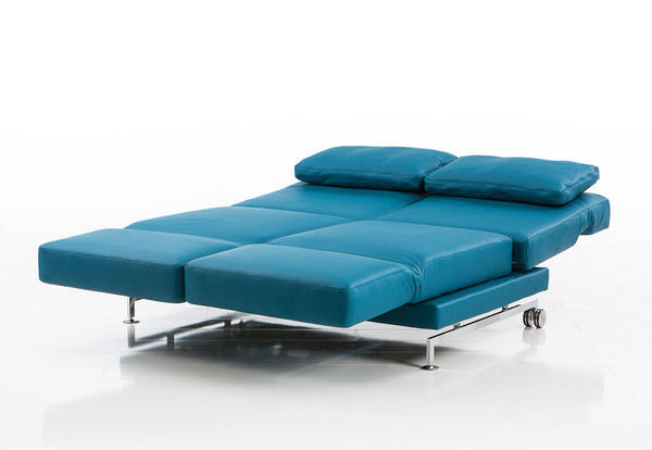 ... Modular sofa / bed / contemporary / leather MOULE by Roland Meyer-Brühl  bruehl ... - Modular Sofa / Bed / Contemporary / Leather - MOULE By Roland