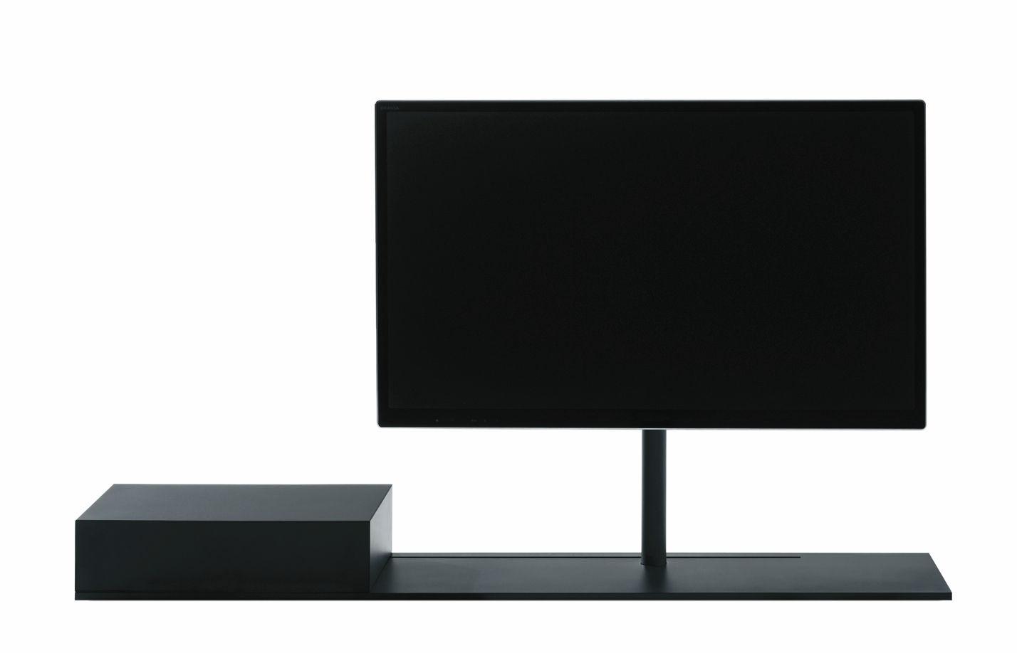 Contemporary Tv Cabinet Hi Fi Steel Sail By Caronni  # Meuble Tv Mobile