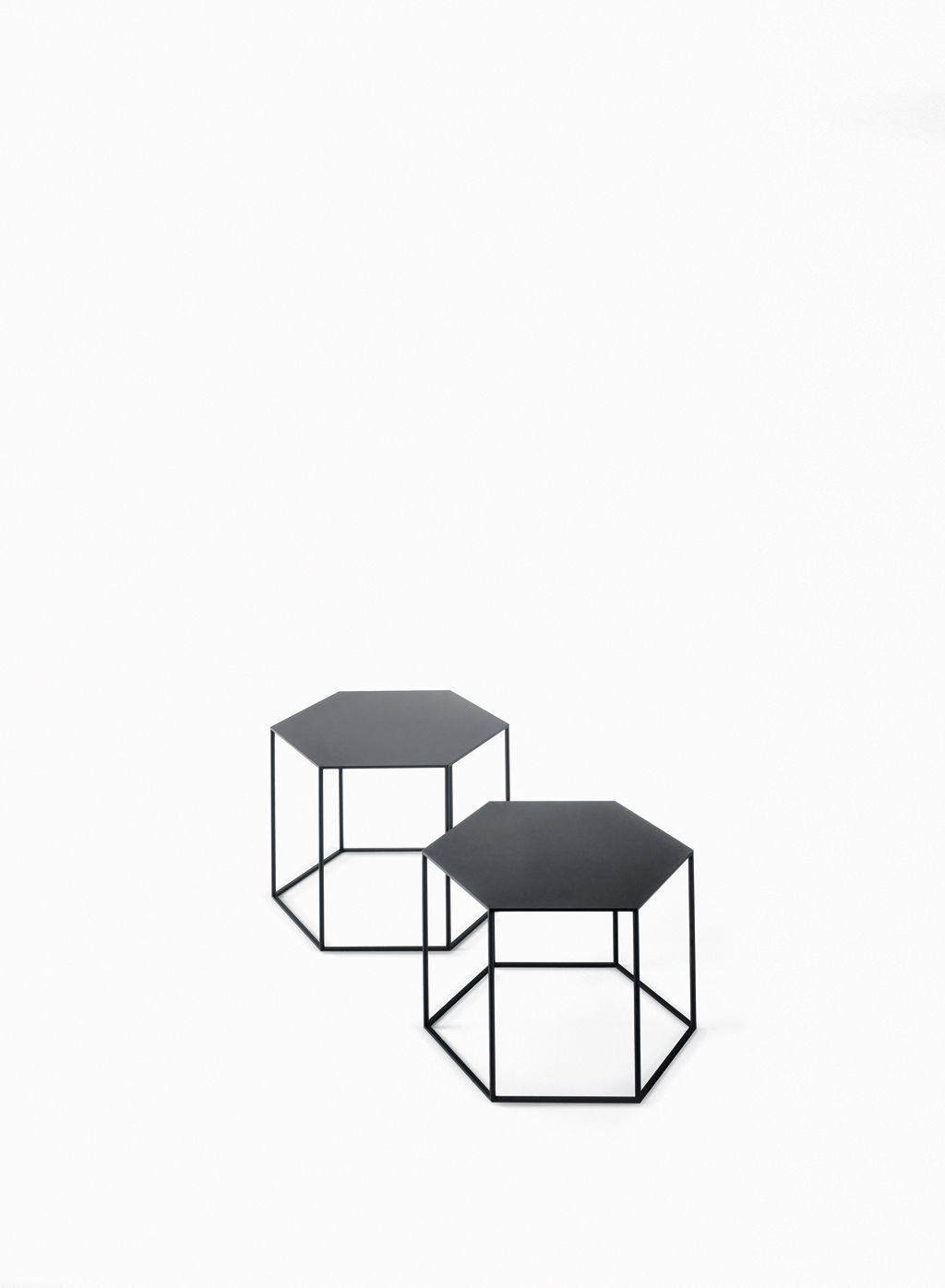 Contemporary coffee table glass steel hexagonal hexagon by contemporary coffee table glass steel hexagonal hexagon by tokujin yoshioka desalto spa geotapseo Images
