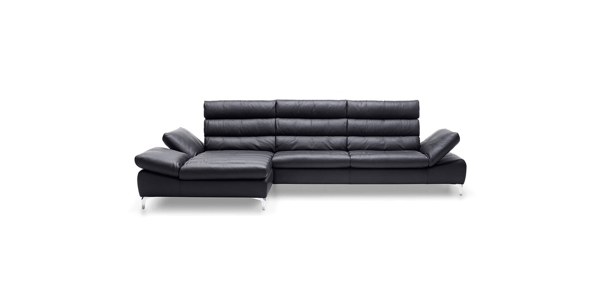 KG; Modular Sofa / Corner / Contemporary / Leather INEZ Ewald Schillig GmbH  U0026 Co.