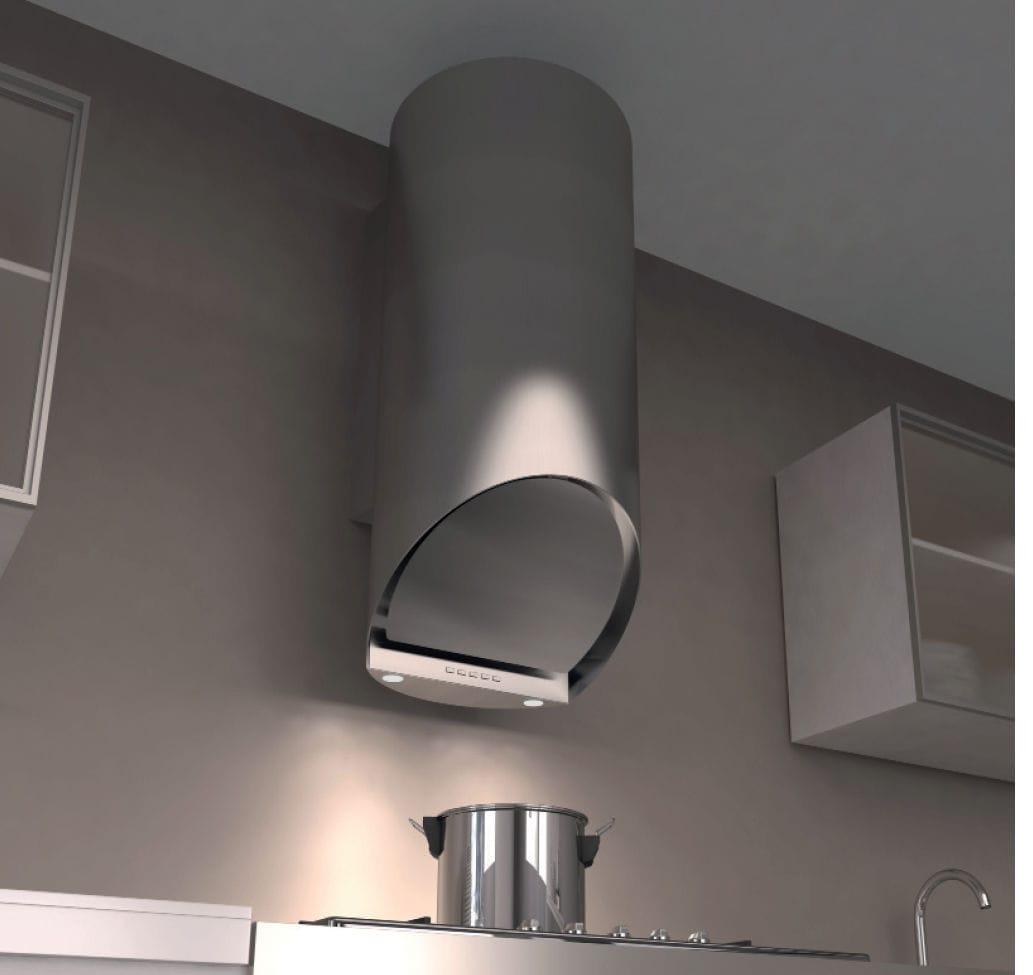 Wall-mounted range hood / original design - CAPPA JUMBO PARETE INOX ...