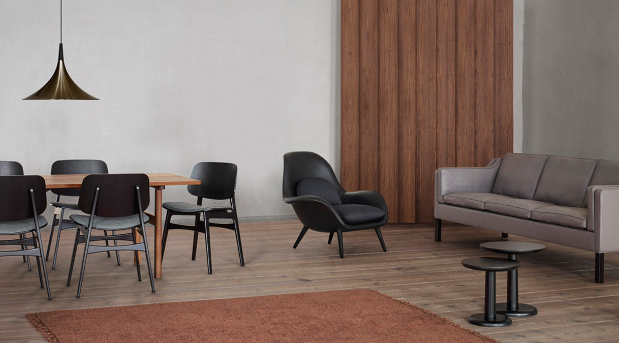 fredericia furniture søborg chair