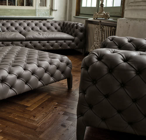 ... Chesterfield Armchair / Velvet WINDSOR By Manzoni U0026 Tapinassi Arketipo