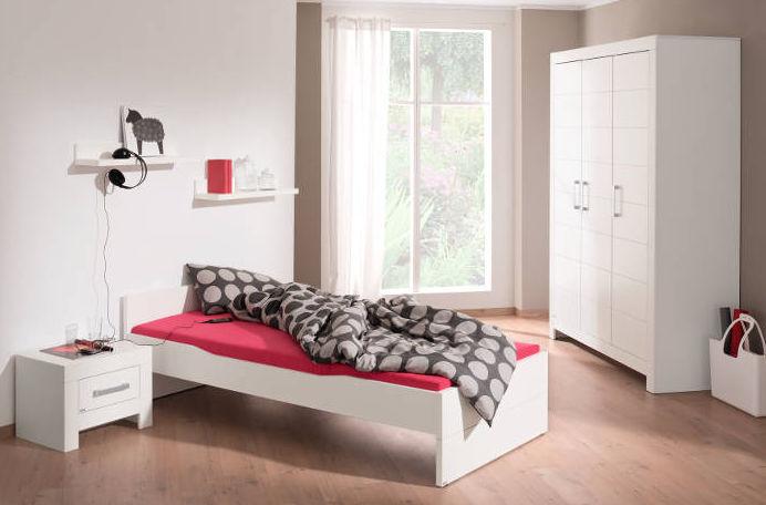 White children\'s bedroom furniture set - FIONA - paidi
