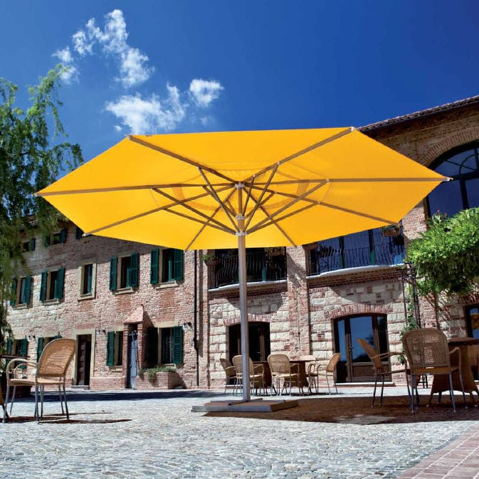 Commercial patio umbrella / aluminum / fabric - MAXI - Commercial Patio Umbrella / Aluminum / Fabric - MAXI - FIM - Videos