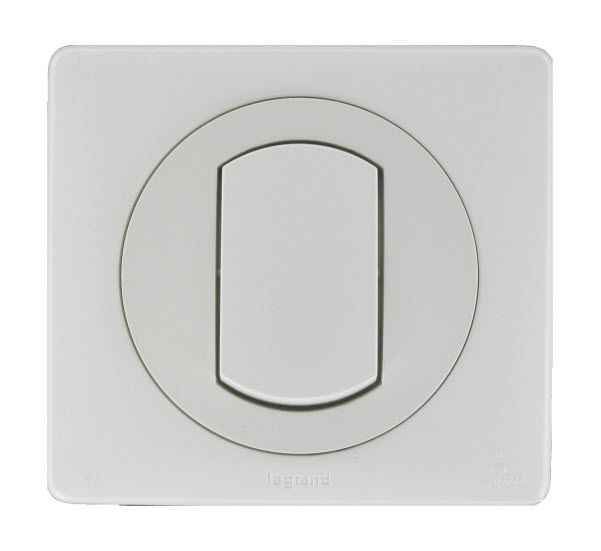 Push-button switch / double / contemporary / waterproof - LEGRAND:Push-button switch / double / contemporary / waterproof,Lighting