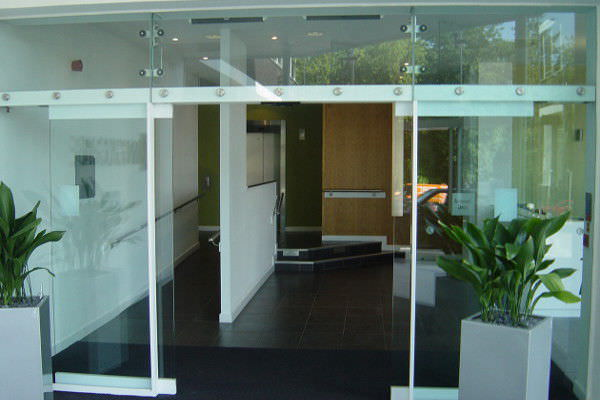 Entry Door Sliding Glass Automatic All Glass Psf Gilgen