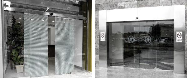 Merveilleux ... Entry Door / Sliding / Glass / Automatic